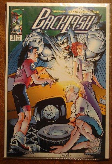 Backlash #23 comic book - Image Comics