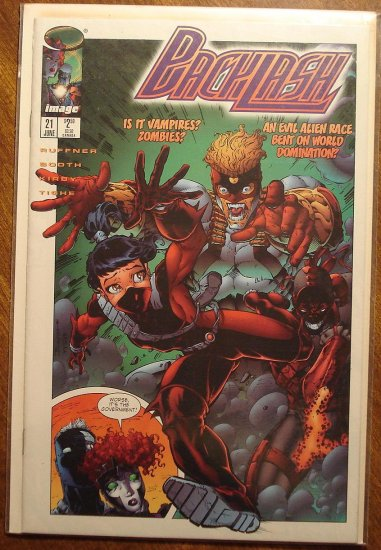 Backlash #21 comic book - Image Comics