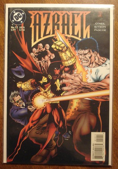 Azrael #12 comic book - DC Comics