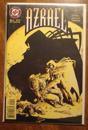 Azrael #9 comic book - DC Comics