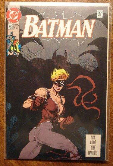 Batman #479 comic book - DC Comics