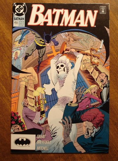 Batman #455 comic book - DC Comics