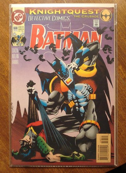 Detective Comics #668 comic book - DC Comics, Batman