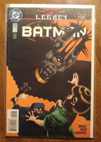 Batman #534 comic book - DC Comics