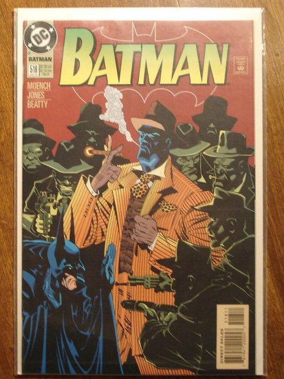 Batman #518 comic book - DC Comics