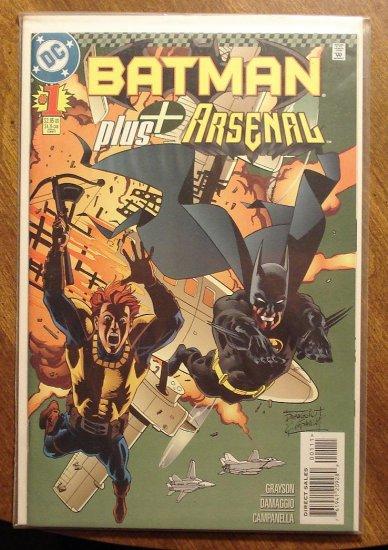 Batman Plus Arsenal #1 comic book - DC Comics
