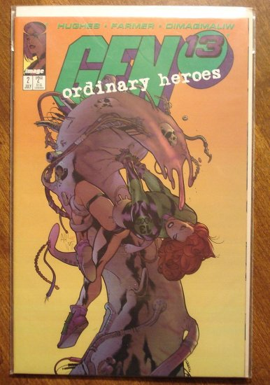 Gen 13: Ordinary Heroes #2 comic book - Image comics, Gen13
