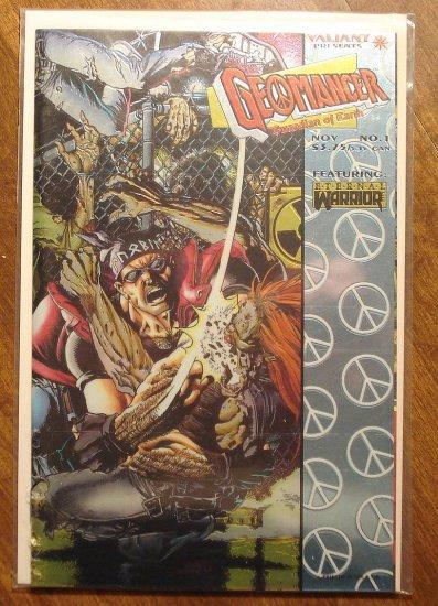 GeoMancer #'s 1 - 5 (1, 2, 3, 4, 5) comic book - Valiant comics, NM/M