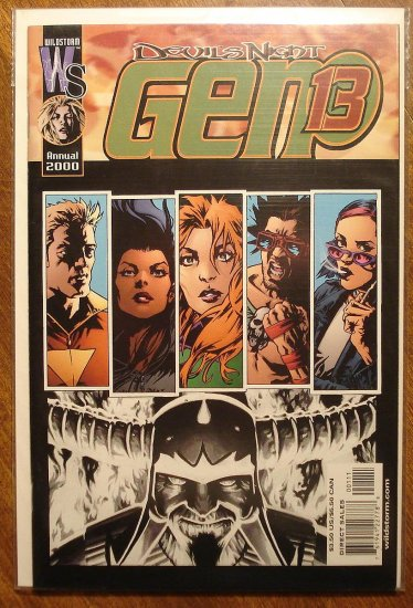 Gen 13 Annual 2000 comic book - Image comics, Gen13