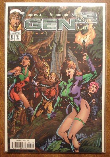 Gen 13: Bootleg #11 comic book - Image comics, Gen13