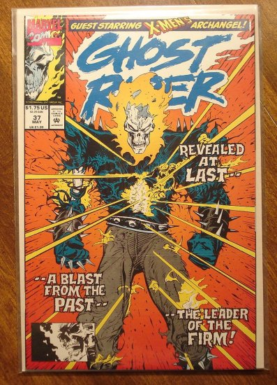 Ghost Rider #37 comic book - Marvel comics - w/ Archangel