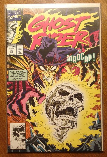 Ghost Rider #33 comic book - Marvel comics