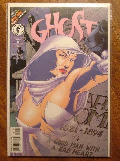 Ghost #15 comic book - Dark Horse comics