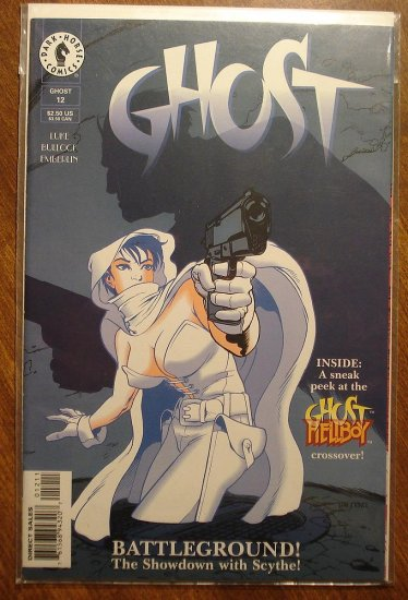 Ghost #12 comic book - Dark Horse comics