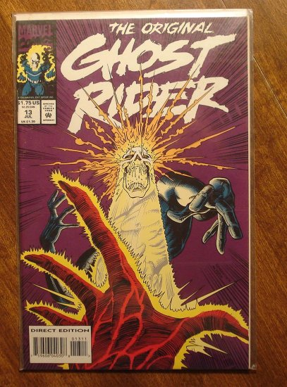 The original Ghost Rider #13 comic book - Marvel comics