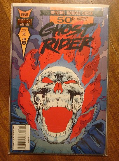 Ghost Rider #50 comic book - Marvel comics