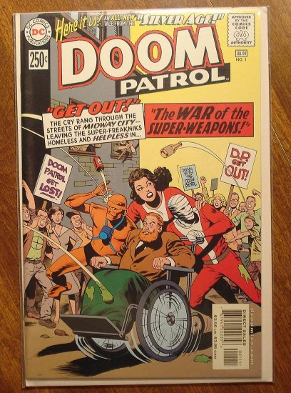 Silver Age: The Doom Patrol #1 (2000) comic book - DC Comics