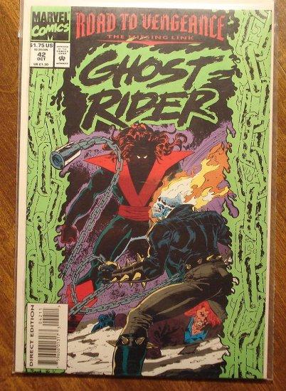 Ghost Rider #42 comic book - Marvel comics
