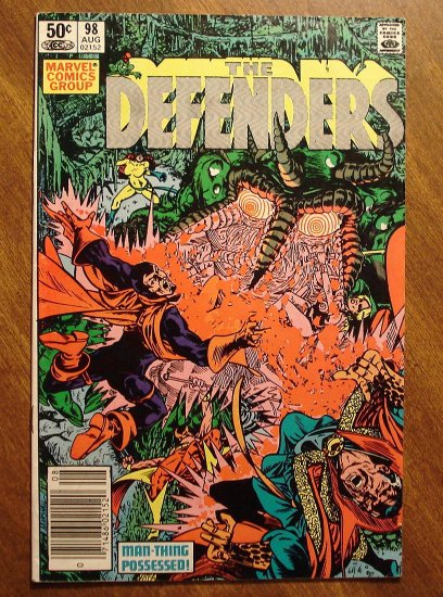 The Defenders #98 comic book - Marvel comics