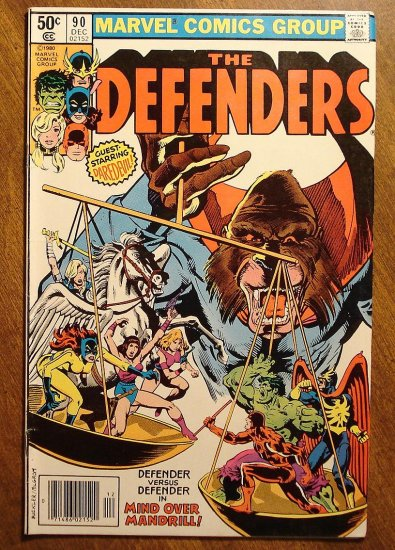 The Defenders #90 comic book - Marvel comics