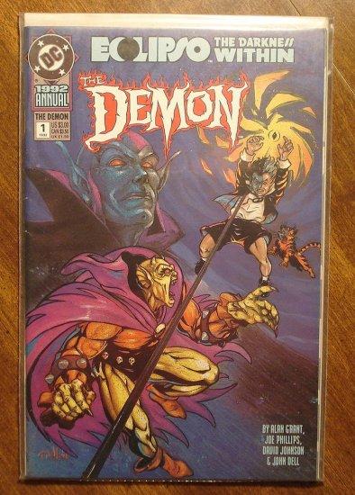 The Demon Annual #1 comic book - DC comics