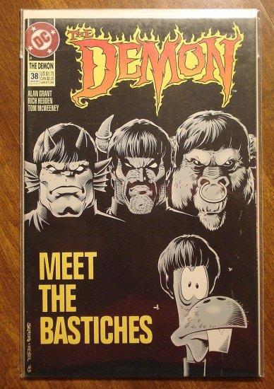 The Demon #38 comic book - DC comics - Beatles Parody Cover
