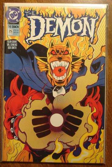 The Demon #25 comic book - DC comics