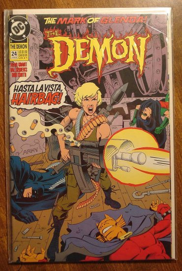 The Demon #24 comic book - DC comics