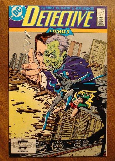 Detective Comics #580 comic book - DC Comics, Batman