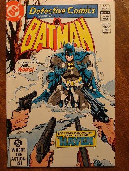 Detective Comics #514 comic book VF - DC Comics, Batman