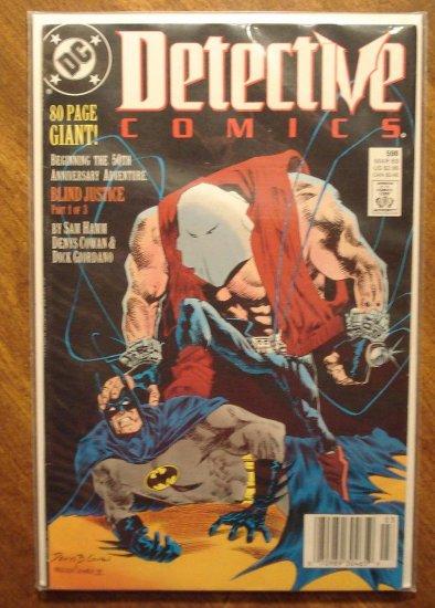 Detective Comics #598 comic book - DC Comics, Batman