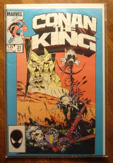 Conan The King #31 comic book - Marvel comics