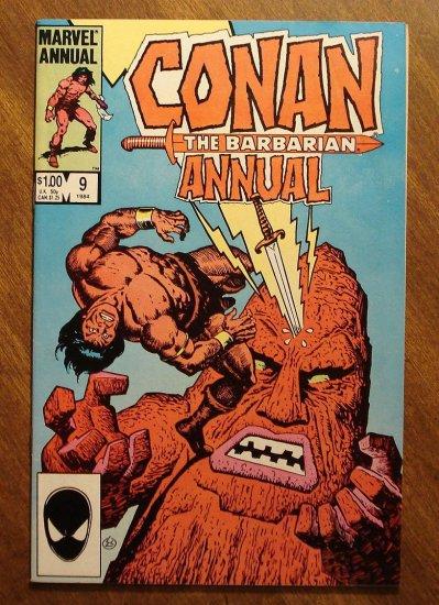 Conan The Barbarian Annual #9 comic book - Marvel comics