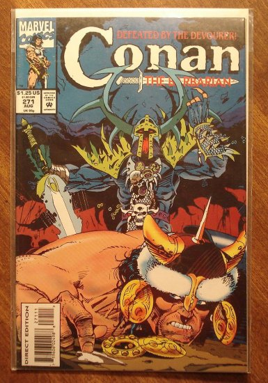 Conan The Barbarian #271 comic book - Marvel comics