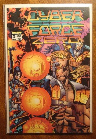 CyberForce #0 comic book - Image comics, cyber force
