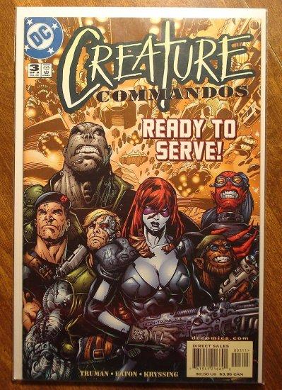 Creature Commandos #3 comic book - DC Comics