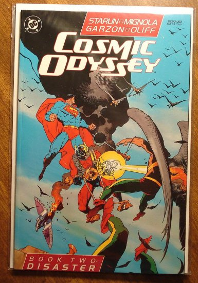 Cosmic Odyssey #2 comic book - DC Comics, Jim Starlin, Mike Mignola