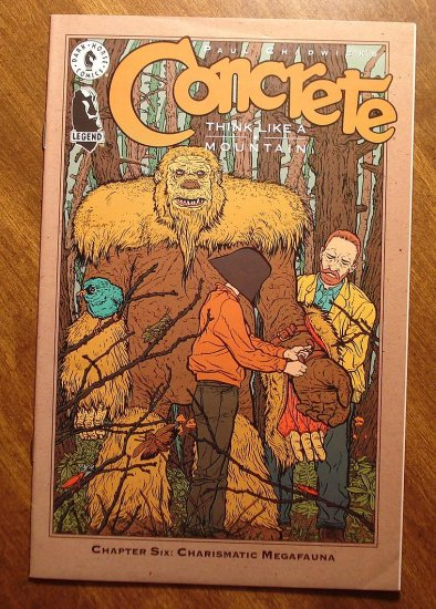 Concrete: Think Like a Mountain #6 (VG) comic book - Dark Horse Comics