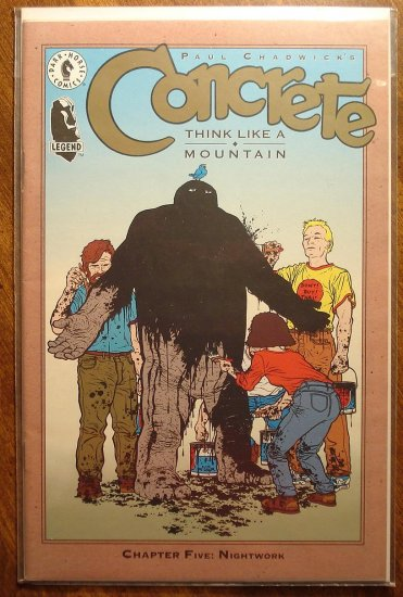 Concrete: Think Like a Mountain #5 comic book - Dark Horse Comics