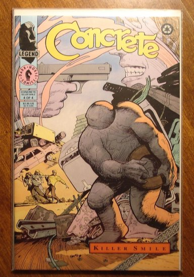 Concrete: Killer Smile #4 comic book - Dark Horse Comics