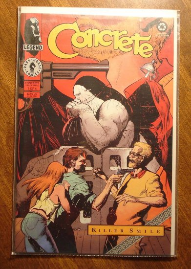 Concrete: Killer Smile #1 comic book - Dark Horse Comics
