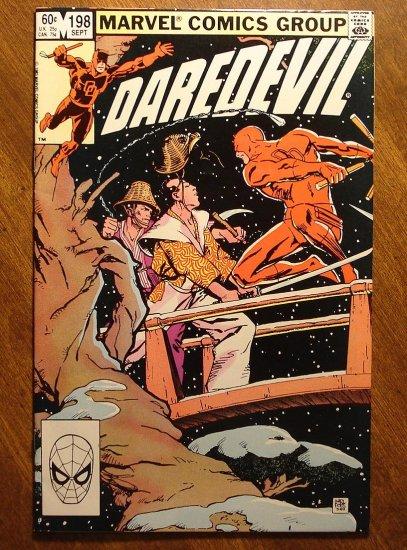 Daredevil #198 comic book - Marvel Comics