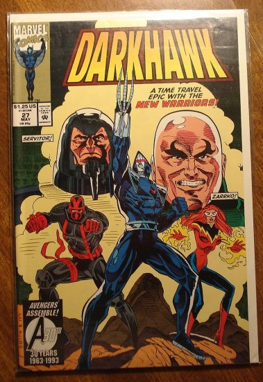 Darkhawk #27 comic book - Marvel Comics