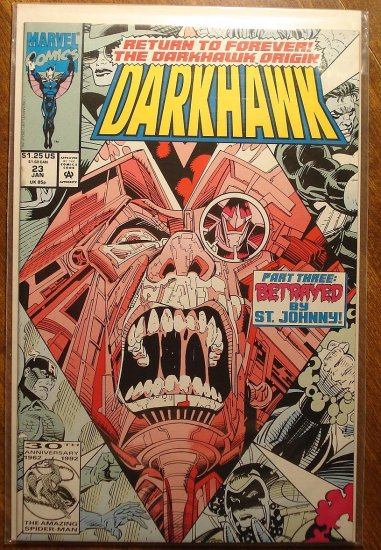 Darkhawk #23 comic book - Marvel Comics