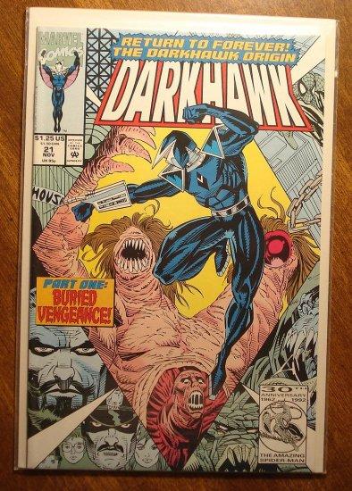Darkhawk #21 comic book - Marvel Comics