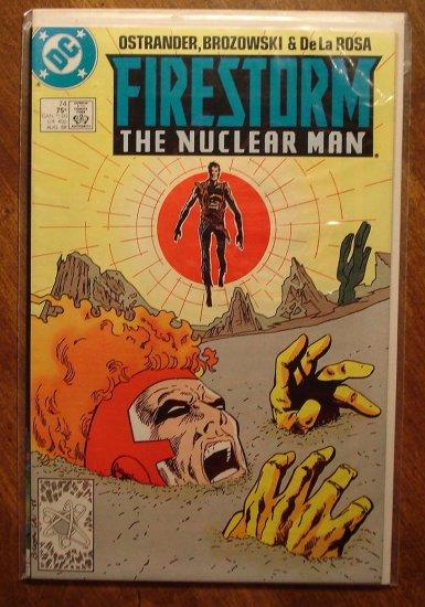 Firestorm The Nuclear Man #74 comic book - DC Comics