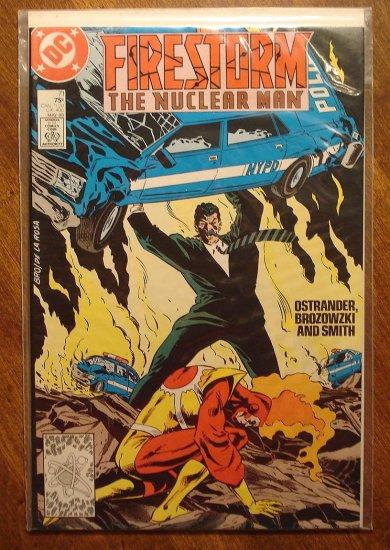 Firestorm The Nuclear Man #71 comic book - DC Comics