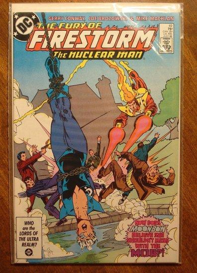 Firestorm The Nuclear Man #49 comic book - DC Comics