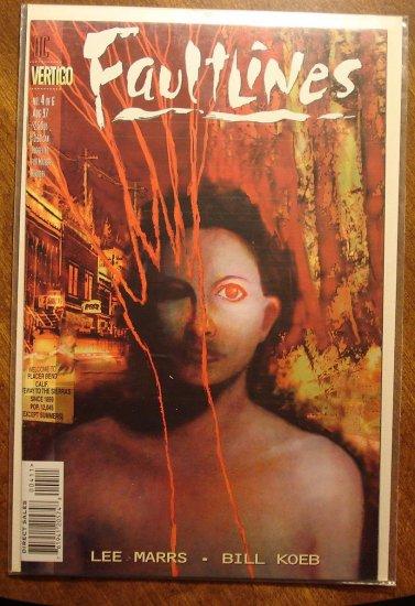 Faultlines #4 comic book - DC (Vertigo) Comics