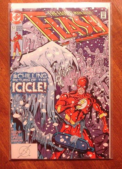 DC Comics - The Flash #57 comic book (1980's series)